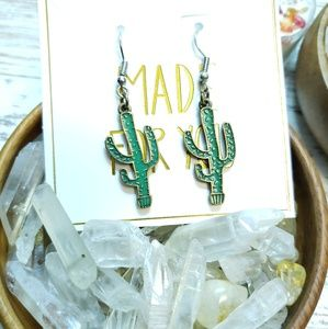 Jewelry - Cactus earrings!